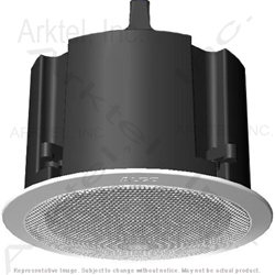 Algo 8188 Sip Ip Ceiling Speaker System Complete White